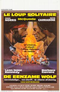 Lone Wolf McQuade - 11 x 17 Movie Poster - Belgian Style A