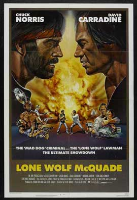 Lone Wolf McQuade - 11 x 17 Movie Poster - Style C