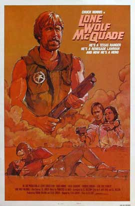 Lone Wolf McQuade - 27 x 40 Movie Poster - Style D