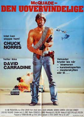 Lone Wolf McQuade - 11 x 17 Movie Poster - Danish Style A