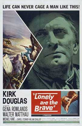 Lonely Are the Brave - 27 x 40 Movie Poster - Style A