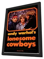 Lonesome Cowboys - 11 x 17 Movie Poster - Style A - in Deluxe Wood Frame
