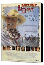 Lonesome Dove - 11 x 17 Movie Poster - Style A - Museum Wrapped Canvas