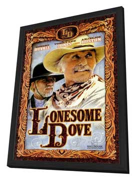 Lonesome Dove - 27 x 40 Movie Poster - Style B - in Deluxe Wood Frame