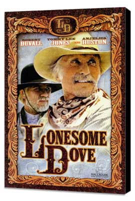 Lonesome Dove - 11 x 17 Movie Poster - Style B - Museum Wrapped Canvas