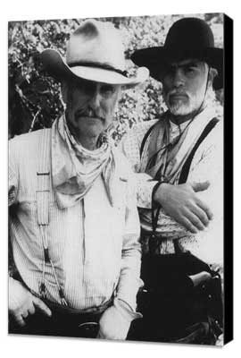 Lonesome Dove - 11 x 17 Movie Poster - Style D - Museum Wrapped Canvas