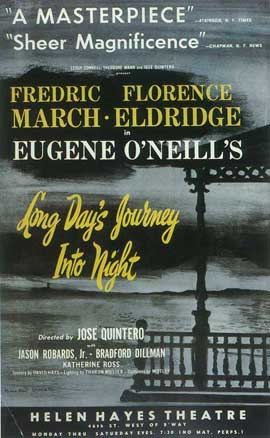 Long Day's Journey Into Night (Broadway) - 14 x 22 Poster - Style A