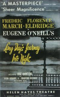 Long Day's Journey Into Night (Broadway) - 11 x 17 Poster - Style A