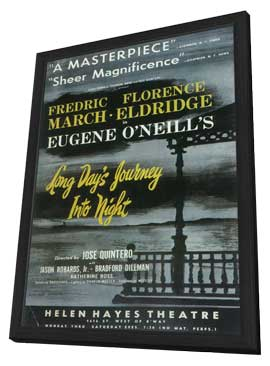 Long Day's Journey Into Night (Broadway) - 11 x 17 Poster - Style A - in Deluxe Wood Frame