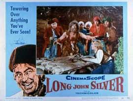 Long John Silver - 11 x 14 Movie Poster - Style B