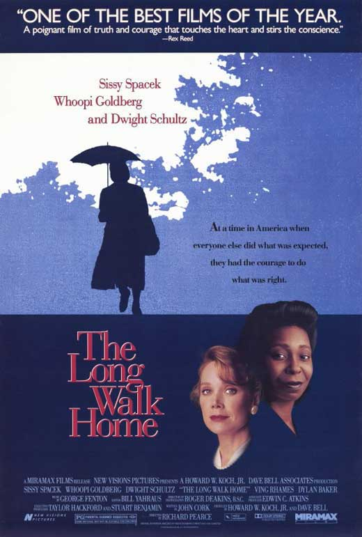 long walk home Watch the long walk home (1990) full movie online, two women, black and white, in 1955 montgomery alabama, must decide what they are going to do in response to the.