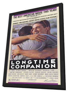 Longtime Companion - 11 x 17 Movie Poster - Style A - in Deluxe Wood Frame