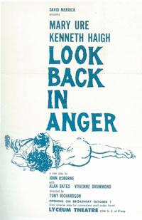 Look Back In Anger (Broadway) - 11 x 17 Poster - Style A