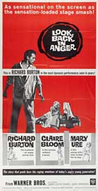 Look Back in Anger - 11 x 17 Movie Poster - Style D