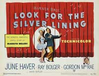 Look for the Silver Lining - 30 x 40 Movie Poster - Style A