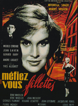 Look Out Girls - 11 x 17 Movie Poster - French Style A