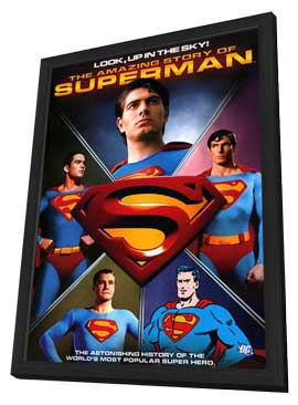 Look, Up in the Sky: The Amazing Story of Superman (TV) - 11 x 17 Movie Poster - Style A - in Deluxe Wood Frame