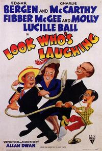 Look Who's Laughing - 27 x 40 Movie Poster - Style A