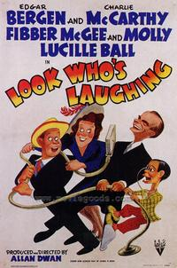 Look Who's Laughing - 43 x 62 Movie Poster - Bus Shelter Style A