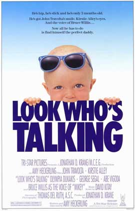 Look Who's Talking - 11 x 17 Movie Poster - Style A