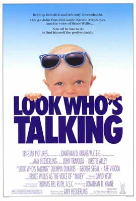 Look Who's Talking - 27 x 40 Movie Poster - Style A
