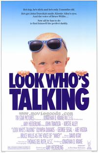 Look Who's Talking - 43 x 62 Movie Poster - Bus Shelter Style A