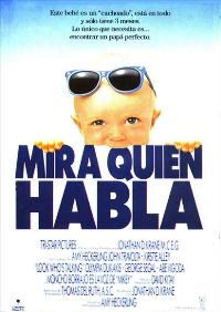 Look Who's Talking - 11 x 17 Movie Poster - Spanish Style A