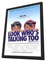 Look Who's Talking Too - 11 x 17 Movie Poster - Style A - in Deluxe Wood Frame