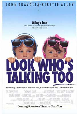 Look Who's Talking Too - 11 x 17 Movie Poster - Style A