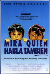 Look Who's Talking Too - 11 x 17 Movie Poster - Spanish Style A