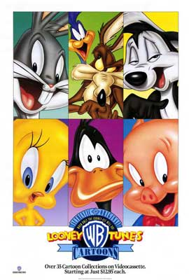 Looney Toons Collection - 27 x 40 Movie Poster - Style A