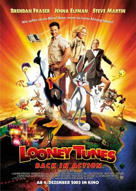 Looney Tunes: Back in Action - 11 x 17 Movie Poster - German Style A