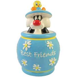 Looney Tunes Cartoons - Sylvester and Tweety Best Friends Cookie Jar