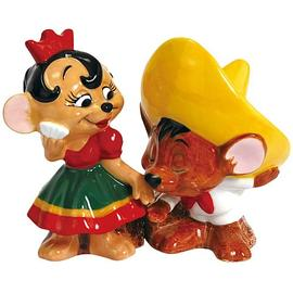 Looney Tunes Cartoons - Speedy Gonzales Senorita Mouse Salt Pepper Set