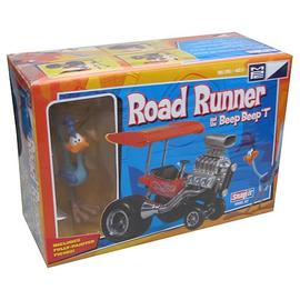 Looney Tunes Cartoons - Road Runner and Beep Beep T Vehicle Model Kit
