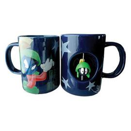 Looney Tunes Cartoons - Marvin the Martian 12 oz. Ceramic Spinner Mug