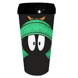 Looney Tunes Cartoons - Marvin the Martian Plastic Travel Mug