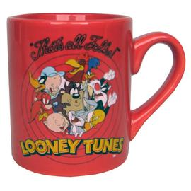 Looney Tunes Cartoons - Logo Red Mug