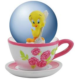 Looney Tunes Cartoons - Tweety Bird Tea Time Water Globe