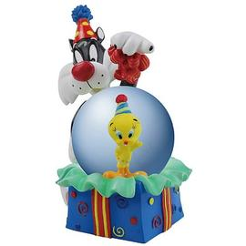 Looney Tunes Cartoons - Sylvester Birthday Surprise Water Globe