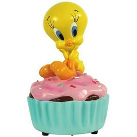Looney Tunes Cartoons - Tweety Cupcake Musical Statue