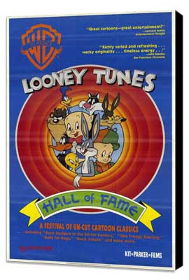 Looney Tunes: Hall of Fame - 11 x 17 Movie Poster - Style A - Museum Wrapped Canvas