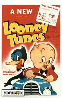 Looney Tunes - 43 x 62 Movie Poster - Bus Shelter Style A