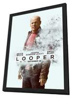 Looper - 27 x 40 Movie Poster - Style D - in Deluxe Wood Frame