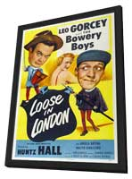 Loose in London - 11 x 17 Movie Poster - Style A - in Deluxe Wood Frame