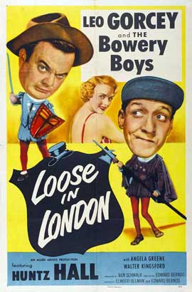 Loose in London - 27 x 40 Movie Poster - Style A