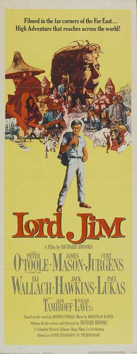 Lord Jim - 14 x 36 Movie Poster - Insert Style A