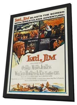 Lord Jim - 11 x 17 Movie Poster - Style B - in Deluxe Wood Frame