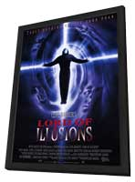 Lord of Illusions - 11 x 17 Movie Poster - Style A - in Deluxe Wood Frame