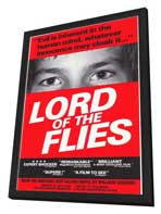 Lord of the Flies - 11 x 17 Movie Poster - Style A - in Deluxe Wood Frame